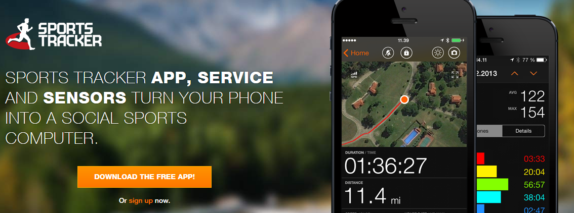 sports tracker app