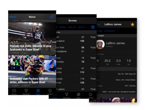 The Score App