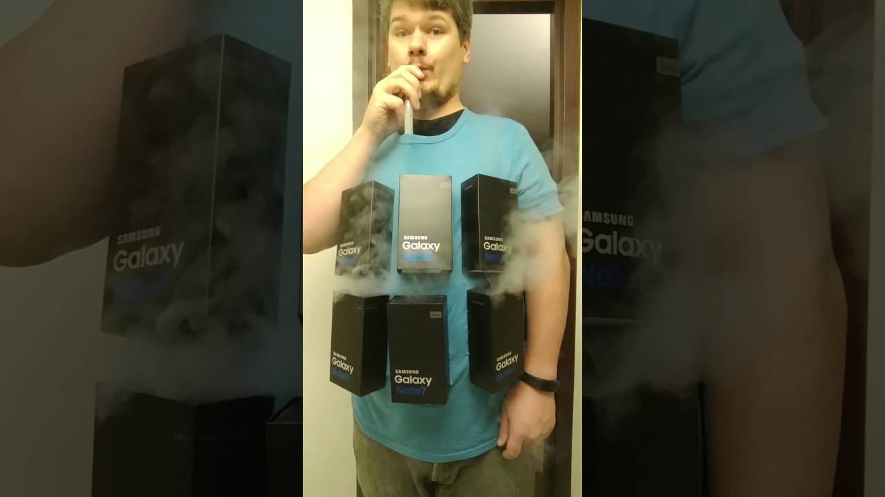 Galaxy Note 7 Costume