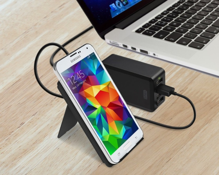 RAVPower 3-Coil Qi Charging Stand