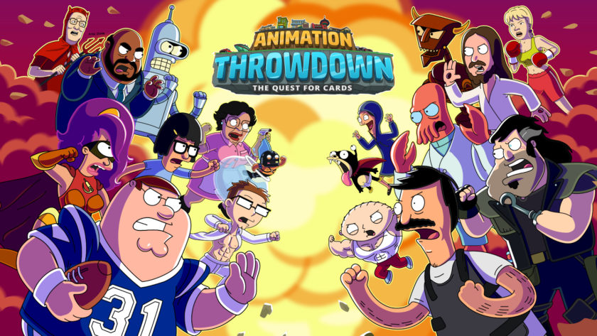 animation throw down
