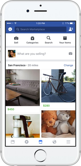 FB marketplace feed