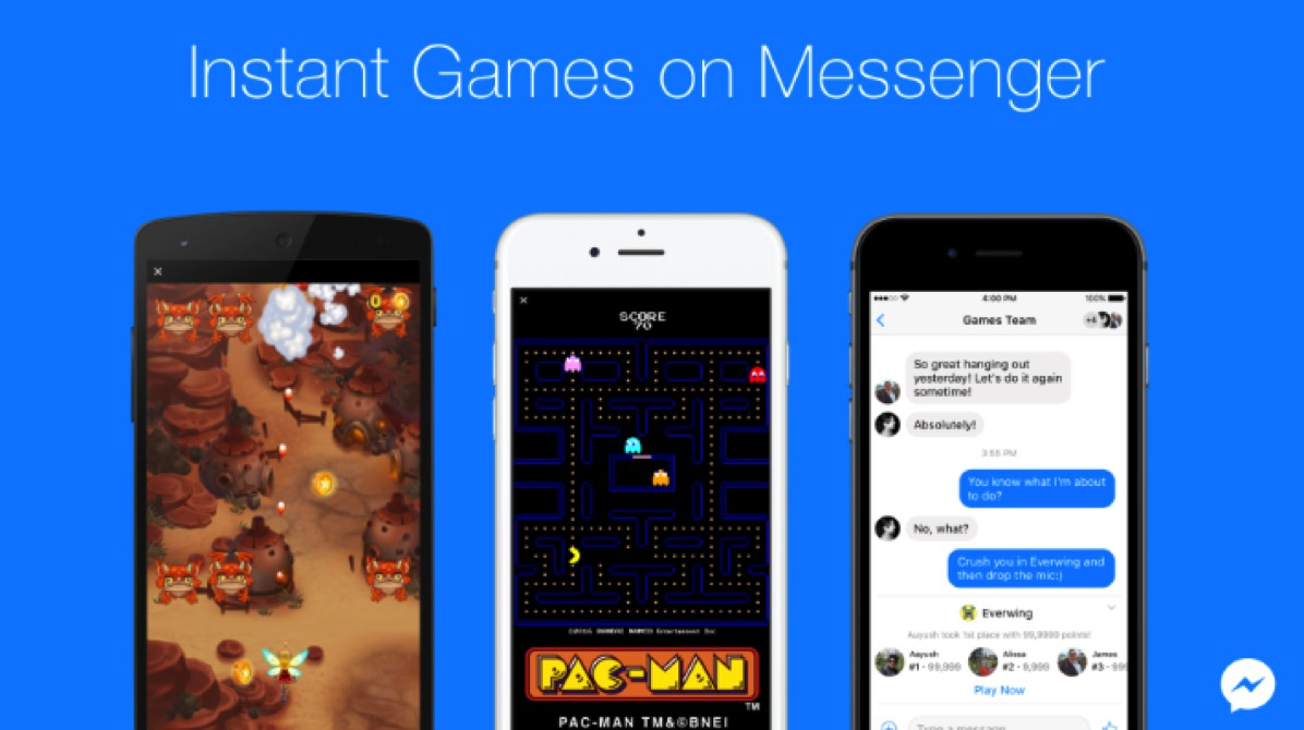FB messenger Games
