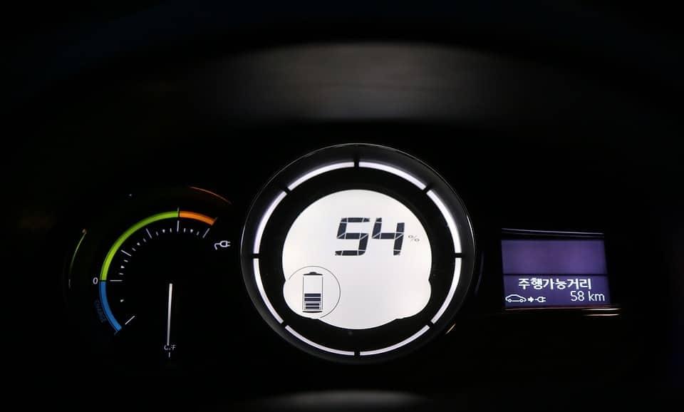 electric car gauge