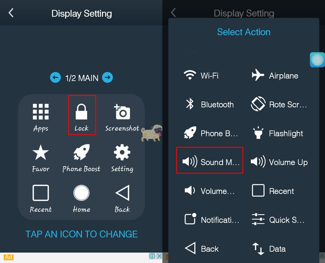 How to Replace an Assistive Touch Icon