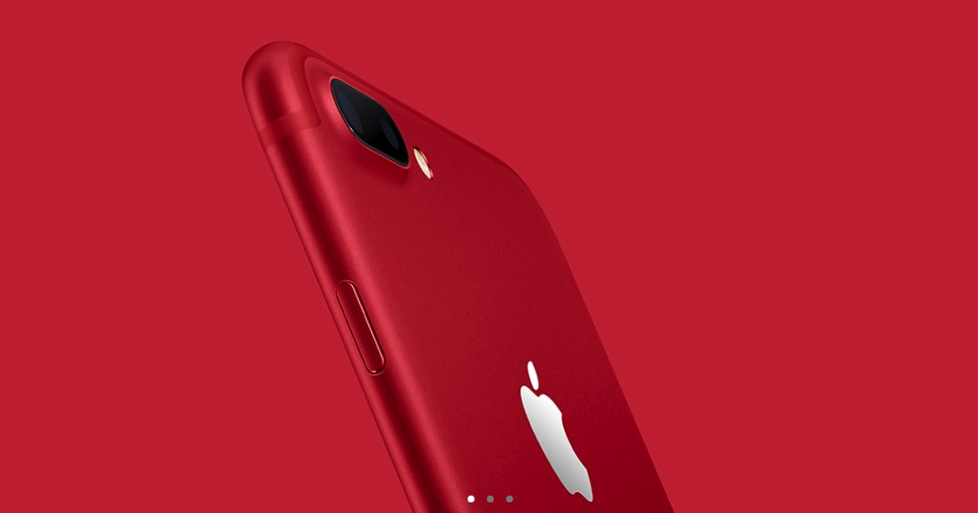 red iphone