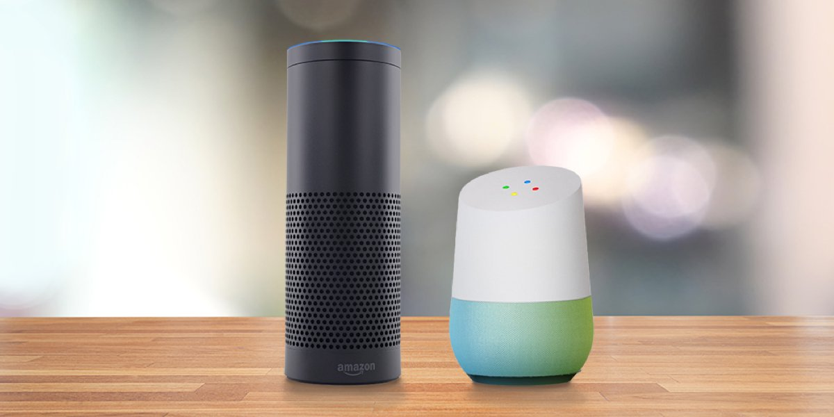 Amazon echo google home