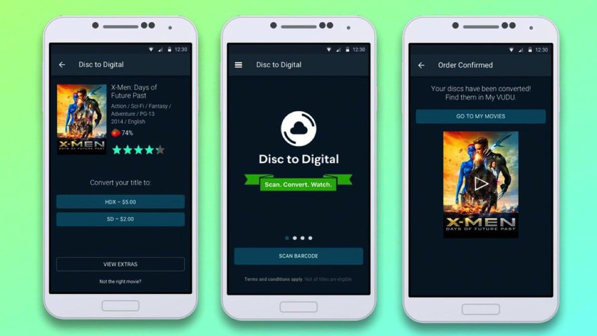 vudu dvd app