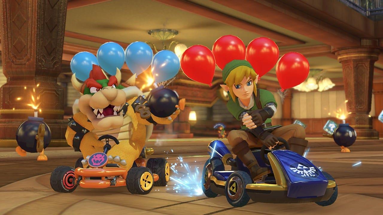 mario kart 8 deluxe balloon battle