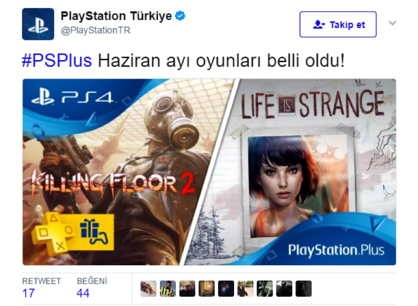 playstation network tweet