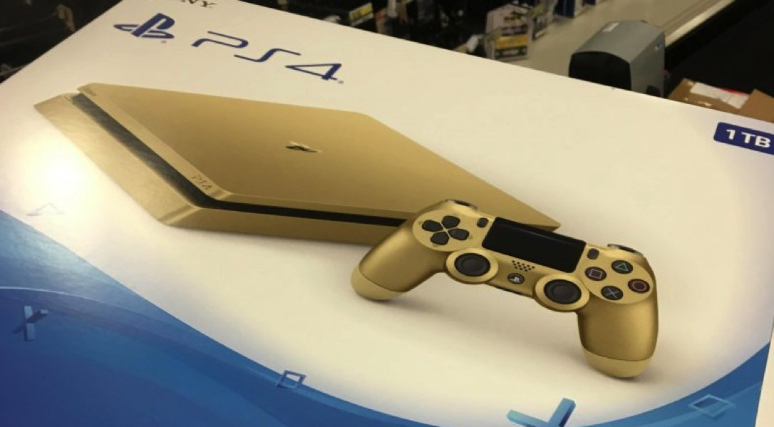 Ps4 slim gold