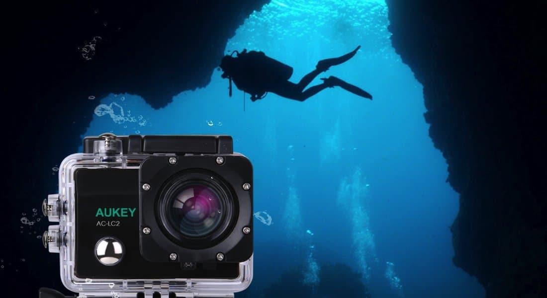 aukey 4k action cam