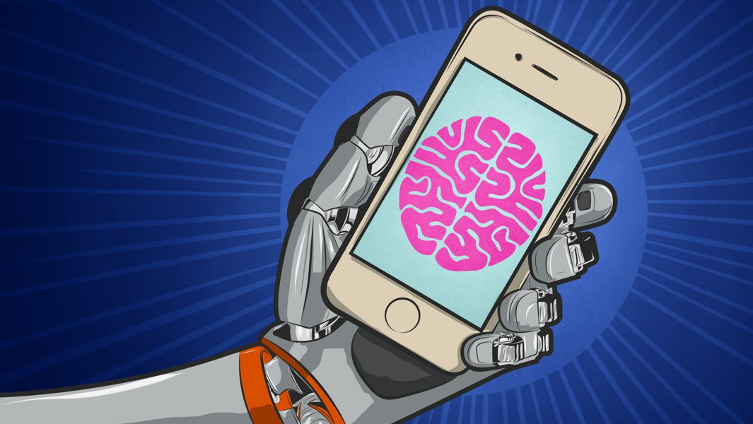 machine learning cell phones