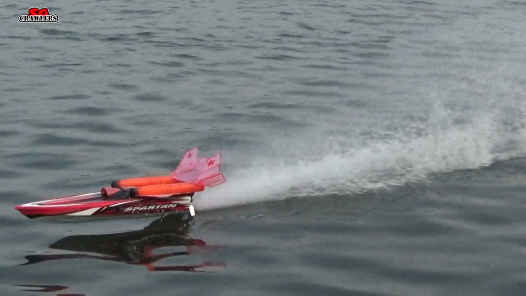 Traxxas Brushless Muscleboat 57076