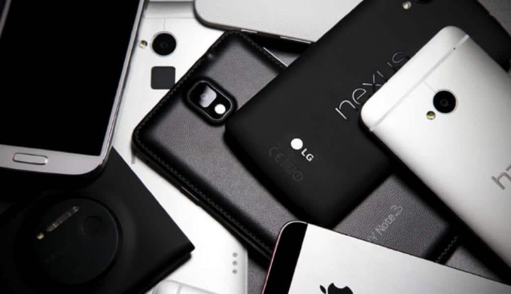 old smartphones