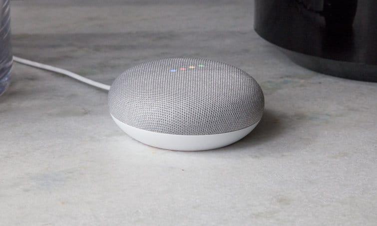 home mini google spotify promo