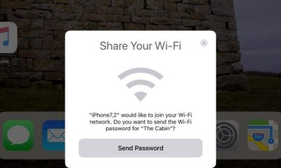 share wifi iOS 11