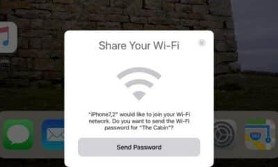 share wifi iOS 11