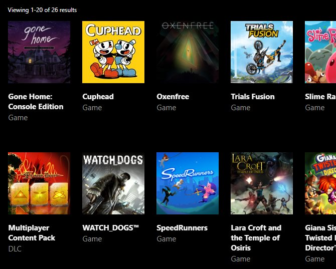 xbox my games page