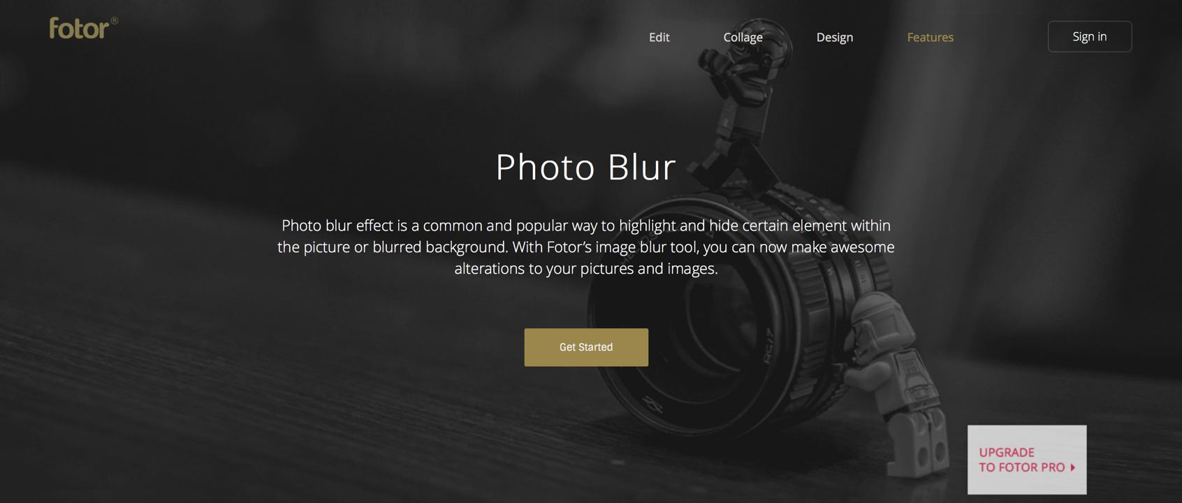 how to deblur a photo online