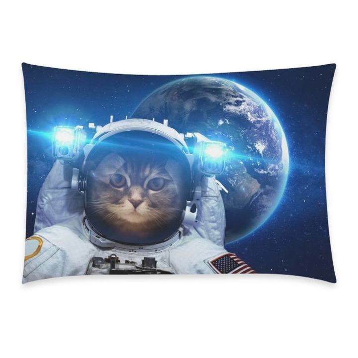 cosmic astronaut pillow