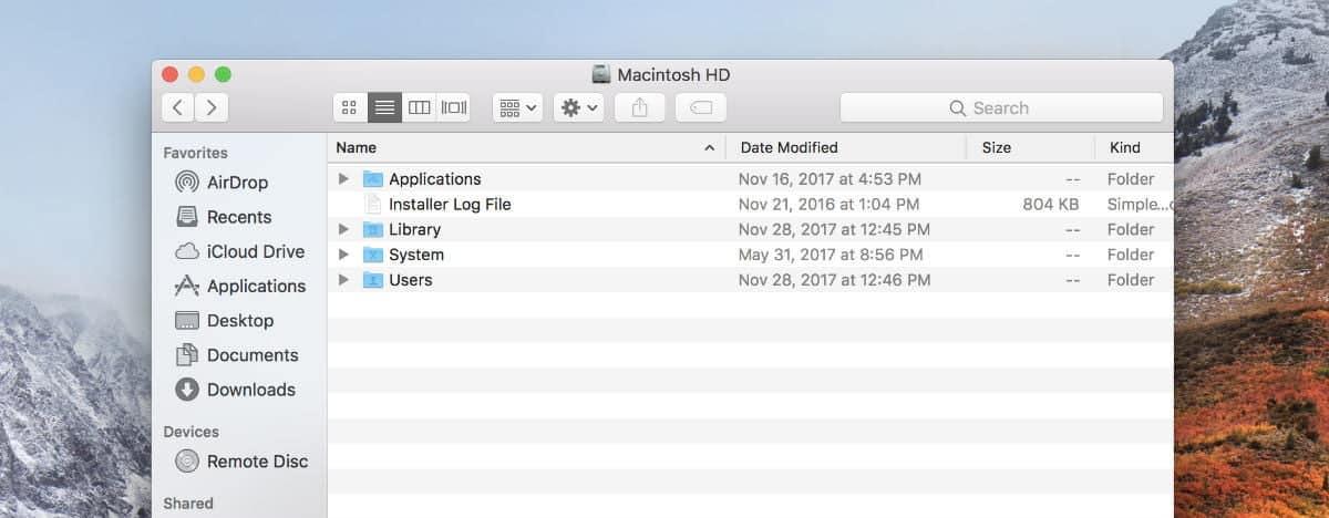 rename folder mac