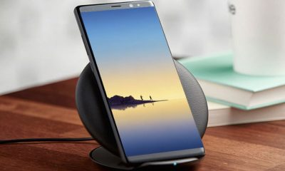 necteck wireless charger stand