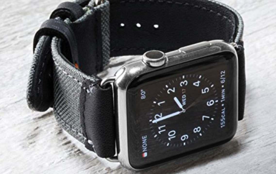 field strap apple watch band