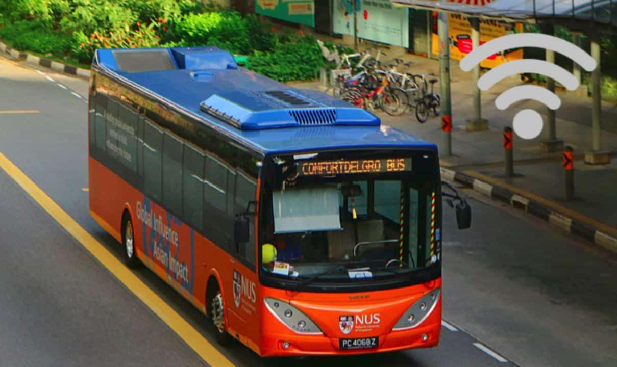 vehicle technology bus wifi