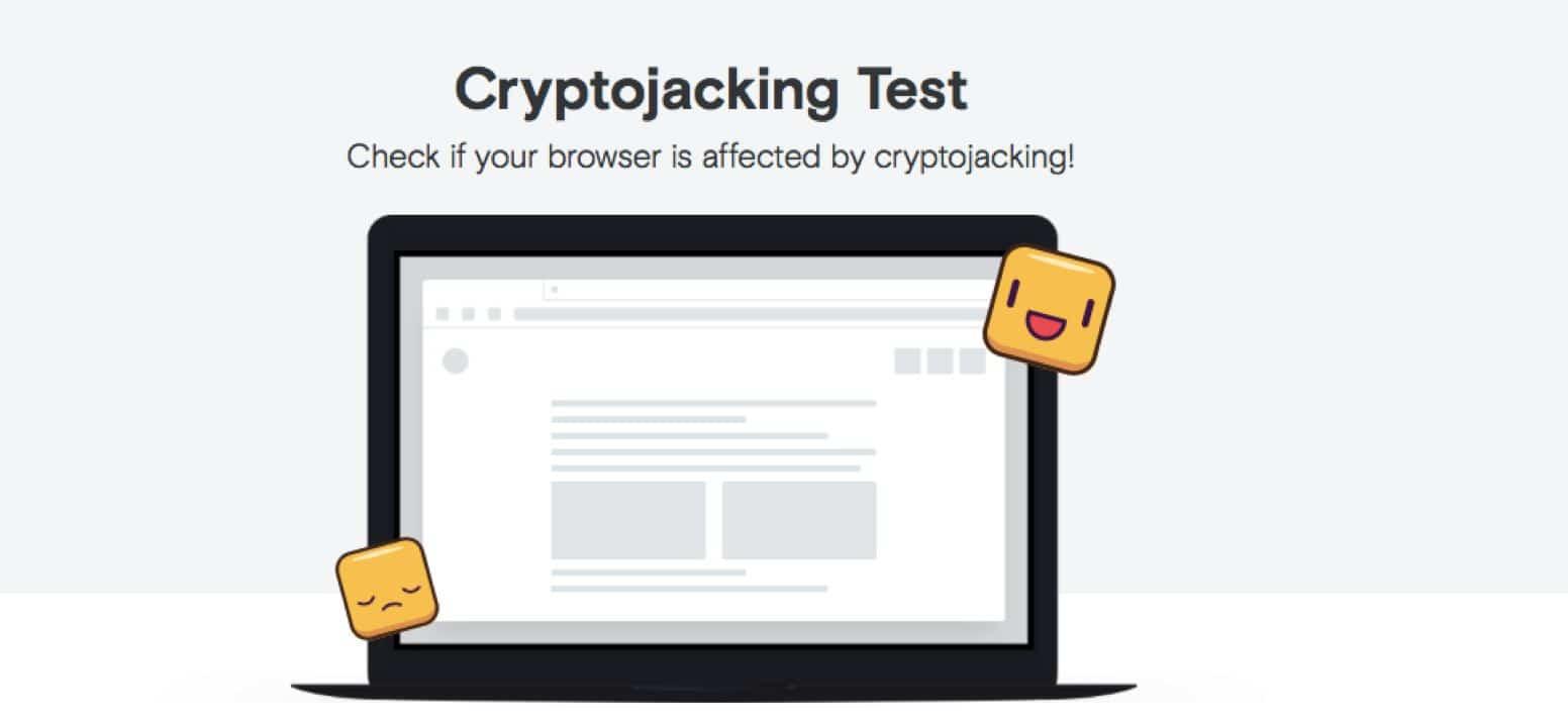 cryptojacking test opera