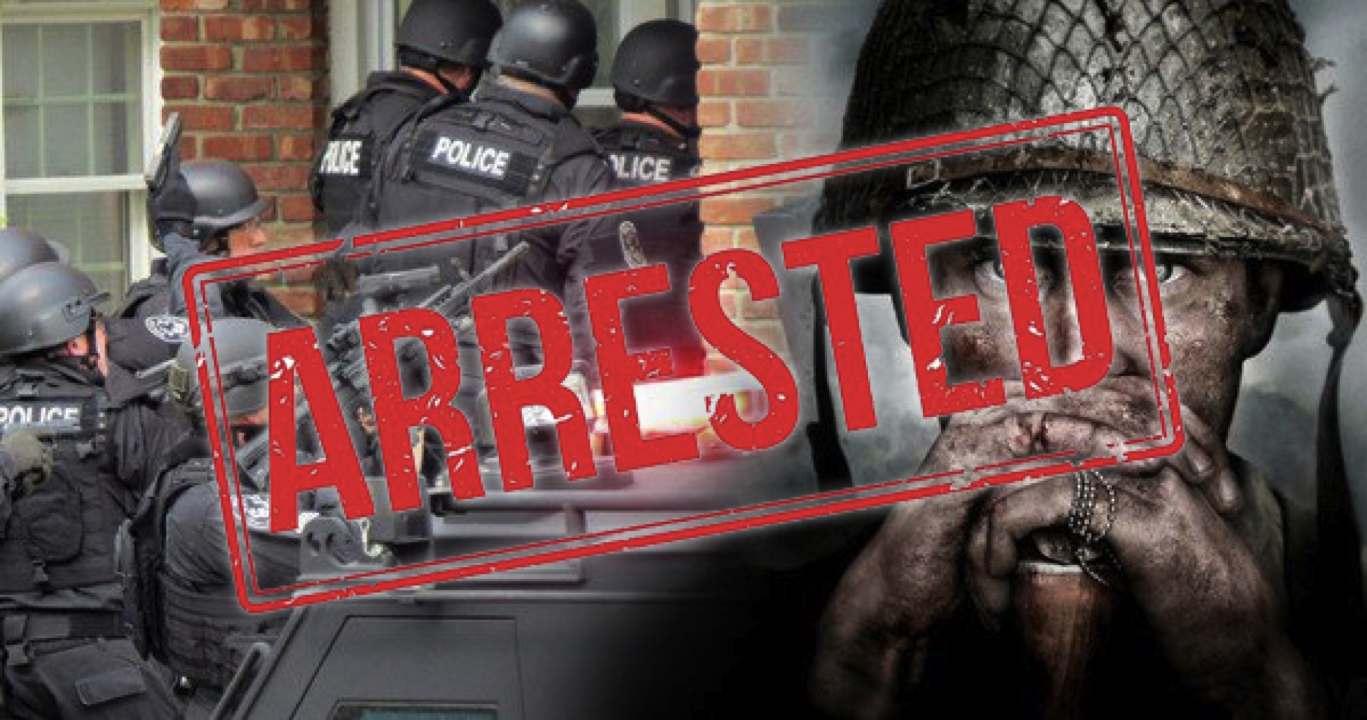 cod swatter arrested