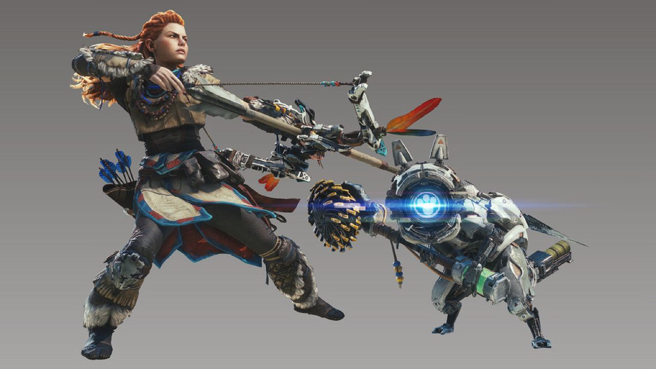 horizon zero dawn items in monster hunter world