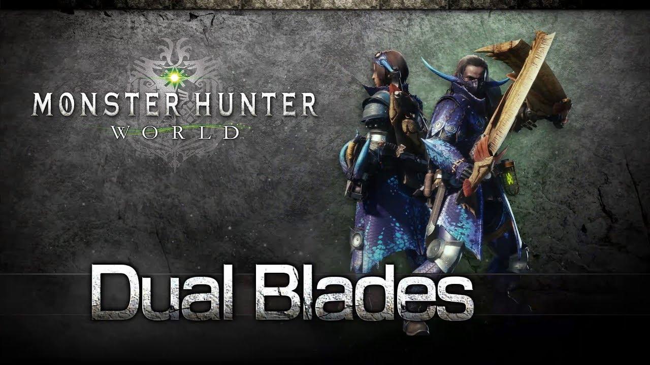 monster hunter world dual blades