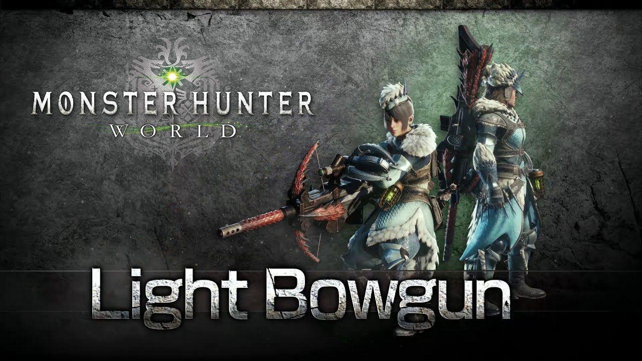 monster hunter world light blowgun