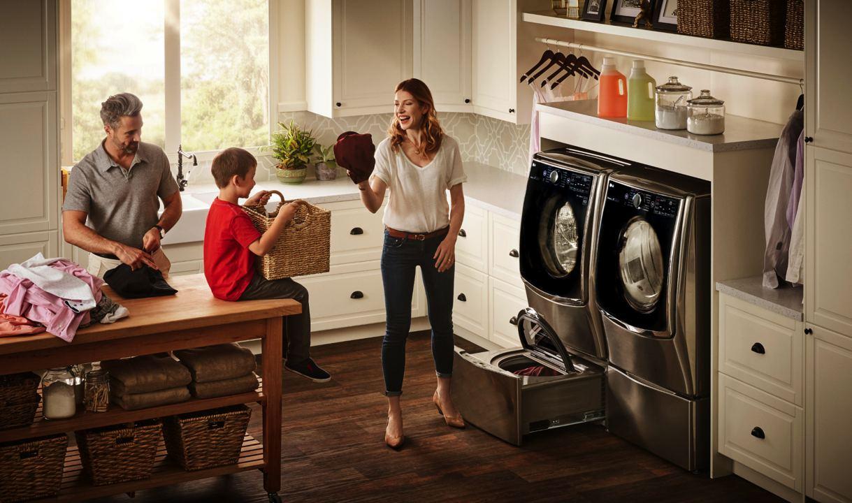 lg twin wash laundry