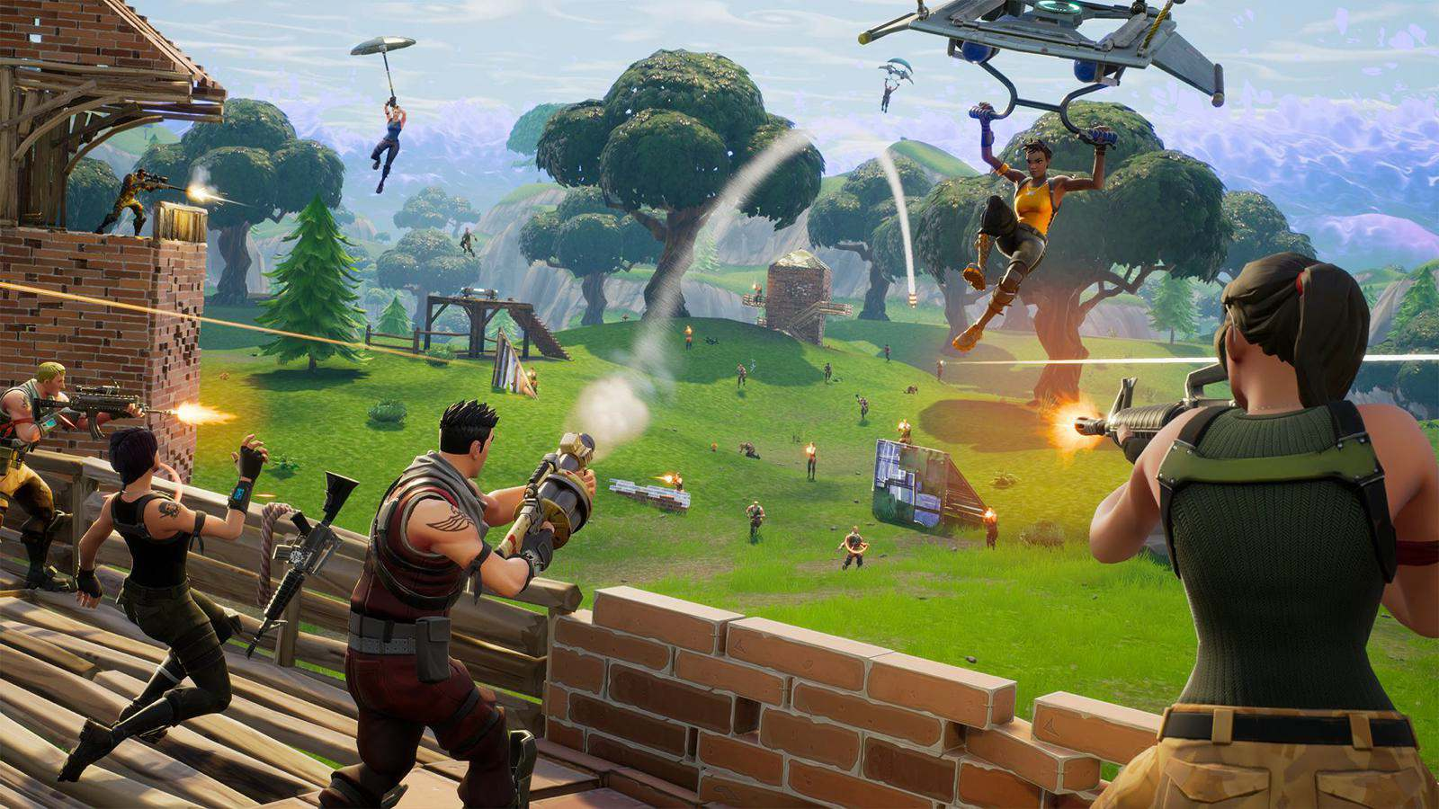 Fortnite Battle Royale Was Developed In Two Months And Wasn