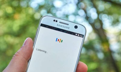 google voice search listening