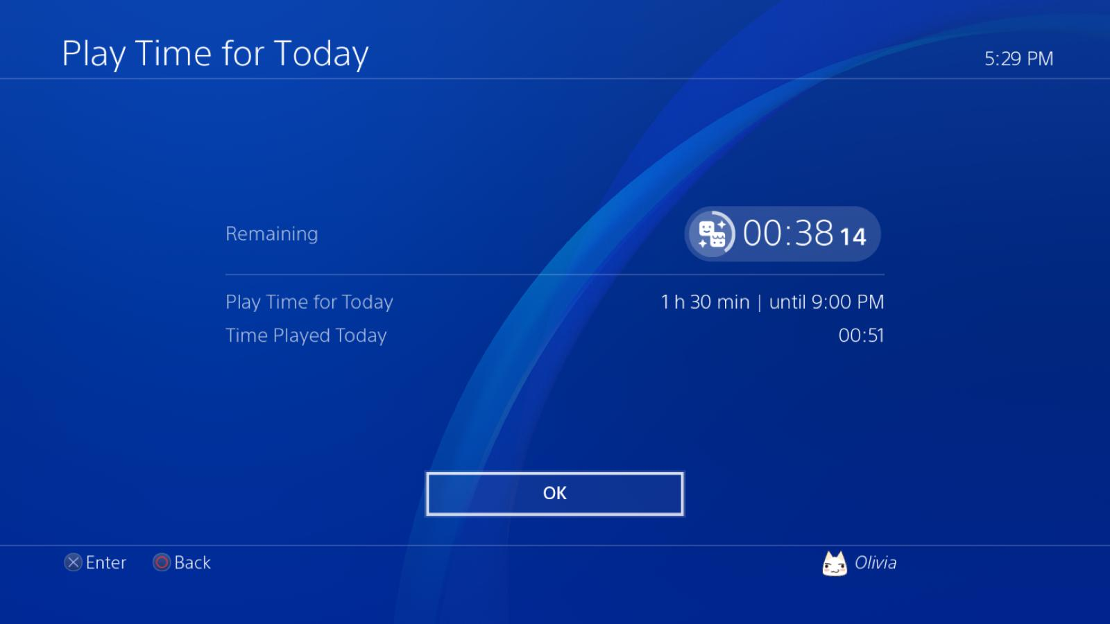 sony ps4 playtime