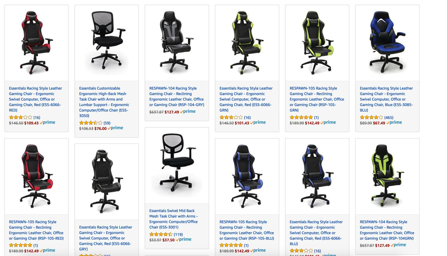 gaming chair deal