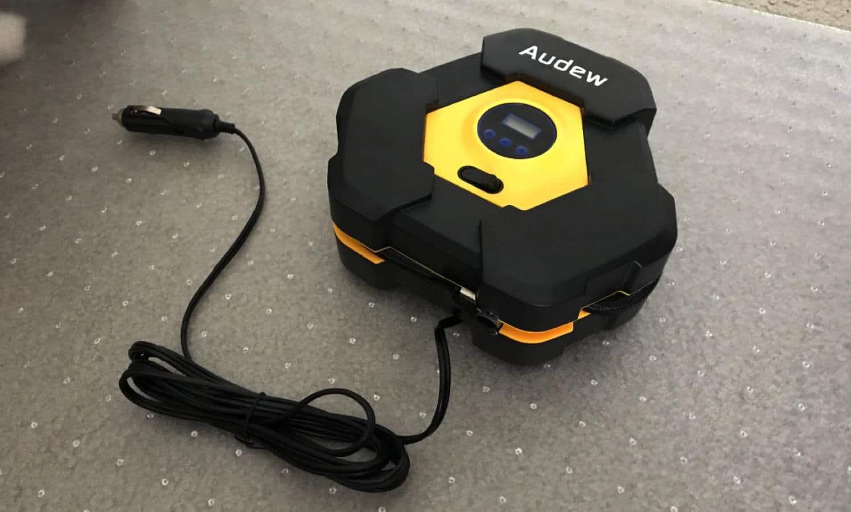 audew portable air compressor pump