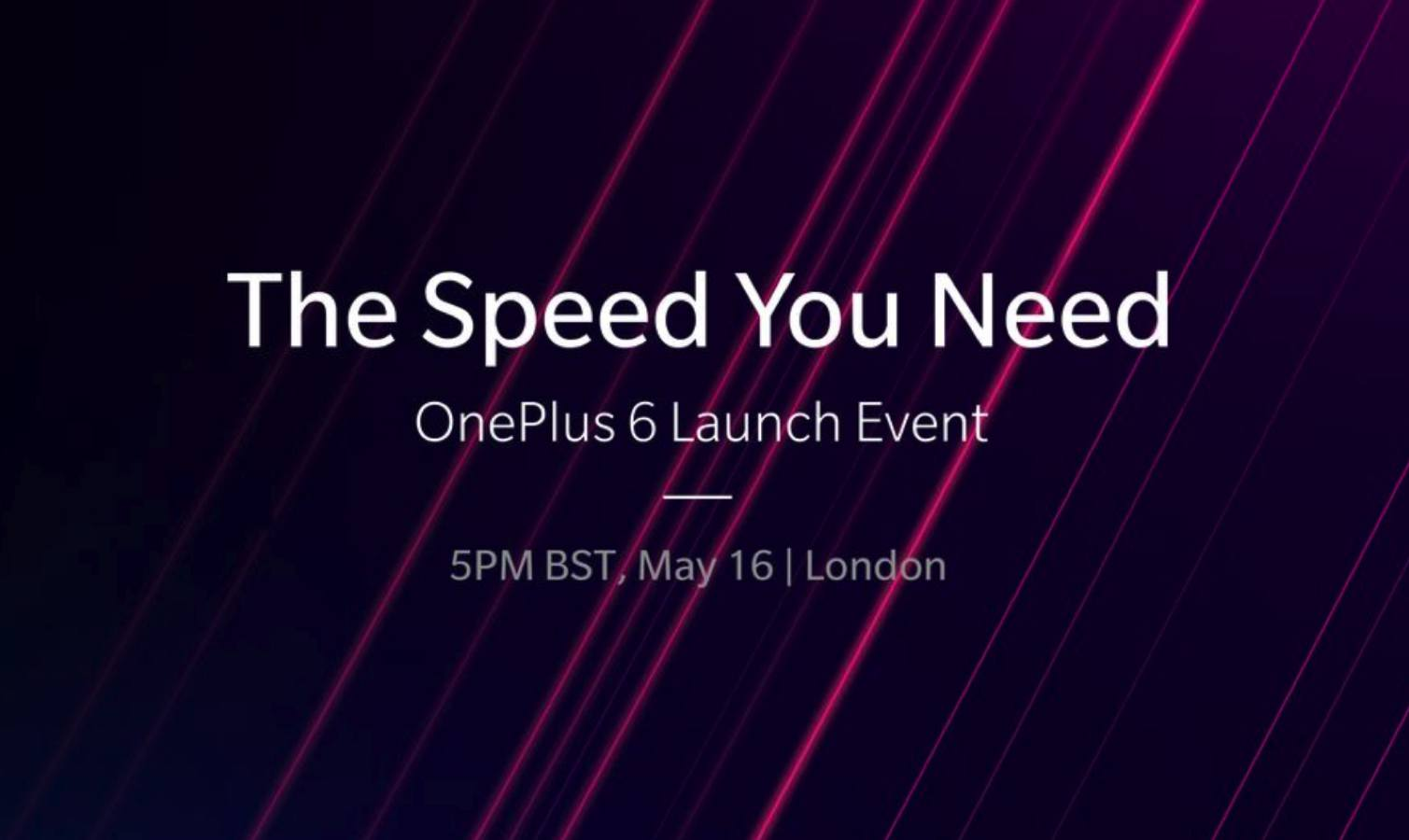 oneplus 6 launch date