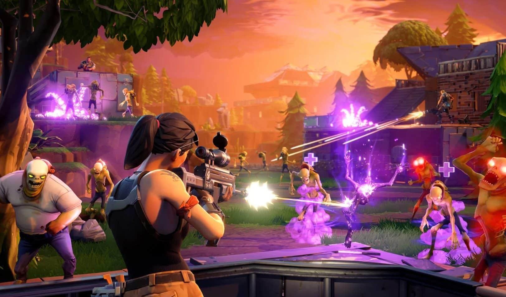 fortnite video game season 4 update save the world