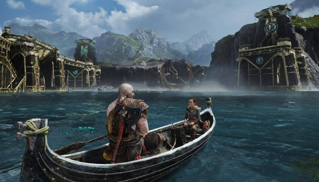 god of war boat ride
