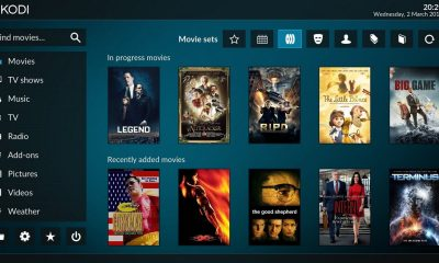 kodi tv screen
