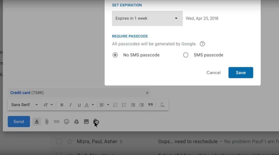 gmail-confidential