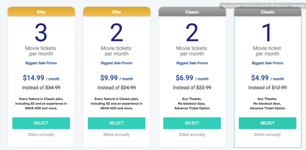 Sinemia for Two