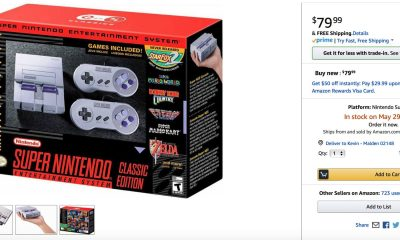 amazon snes classic edition