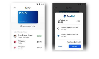 google and paypal