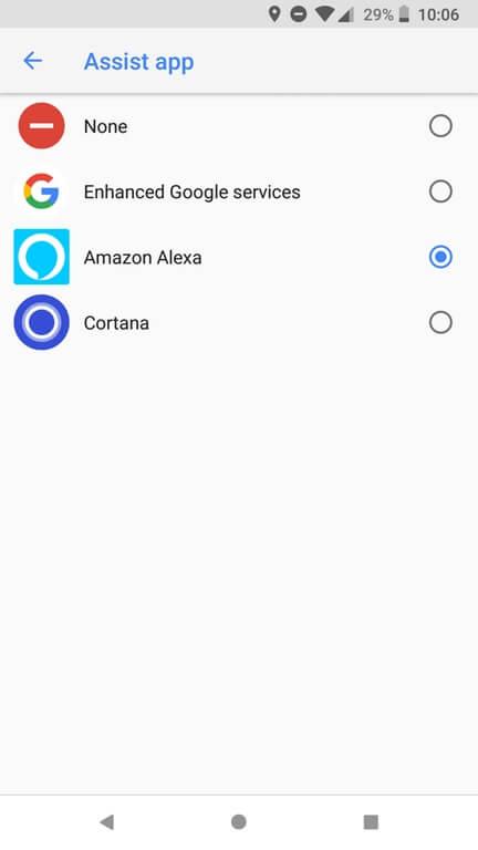 assist app alexa