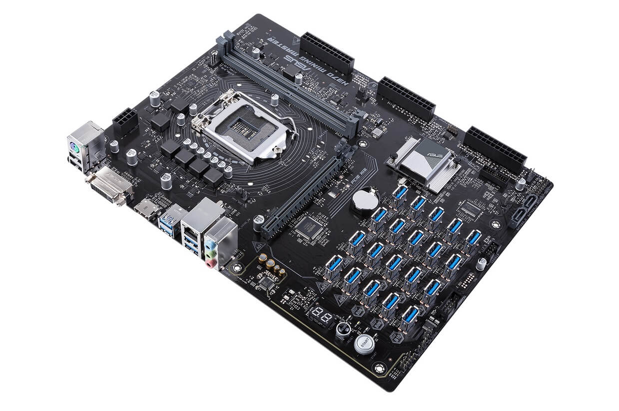 asus h370 cryptominers